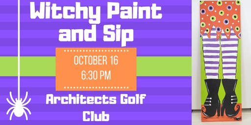 Witchy Paint and Sip - Architect's Golf Club