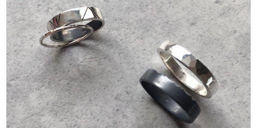 Silver Stacking Ring Making Workshop