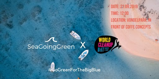 Sea Going Green X World Cleanup Day 2019