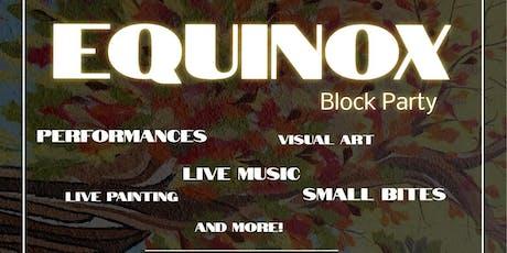 EQUINOX tickets