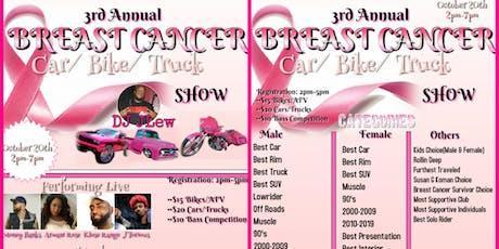 3rd Annual Breast Cancer Fundraiser Car Show tickets