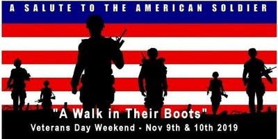 A Walk in Their Boots 2019 Military Timeline and Living History Event
