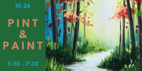 Pint & Paint with Pinot's Palette tickets