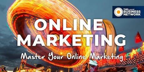 Master your Online Marketing tickets