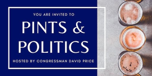 Apex - Pints & Politics with Rep. Price