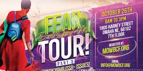 THE FEAR TOUR 2 - UNPACK YOUR ISSH (ISSUES) tickets