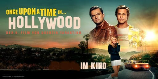 Kino: Once Upon A Time in Hollywood