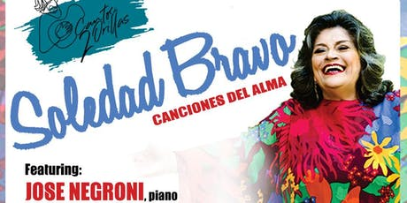 SOLEDAD BRAVO / Canciones del Alma / CANTOS DE 2 ORILLAS. tickets