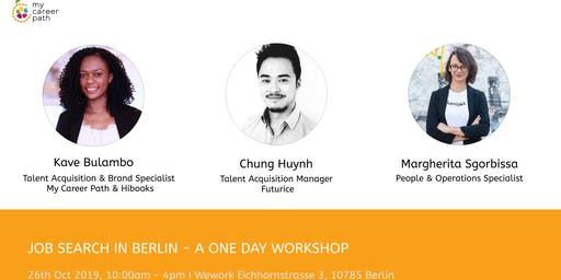 JOB SEARCH IN BERLIN - A ONE DAY WORKSHOP