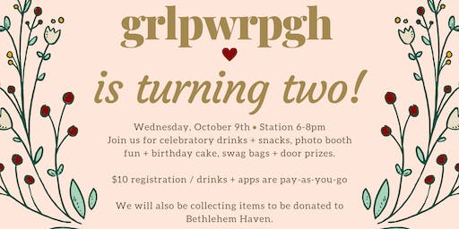 grlpwrpgh is Turning TWO!