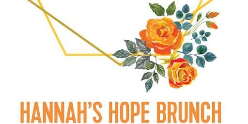 Hannah's Hope Ministries Annual Brunch