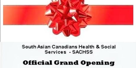 SACHSS Inauguration(South Asian Canadians Health & Social Services) tickets