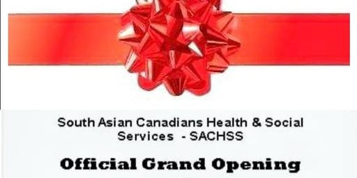 SACHSS Inauguration(South Asian Canadians Health & Social Services)