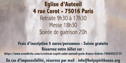 Retreat Esprit-Saint - Auteuil - Paris- France,