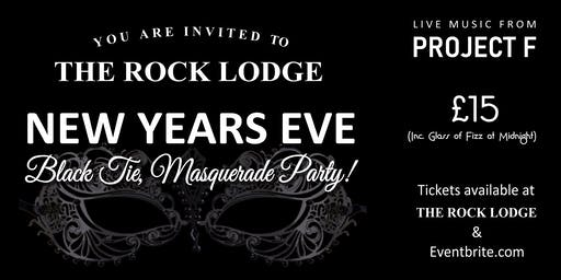 The Rock Lodge Black Tie & Masquerade New Years Eve Party. WHITSTABLE
