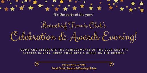 2019 Club Celebration and Awards Night (Beauchief Tennis Club)