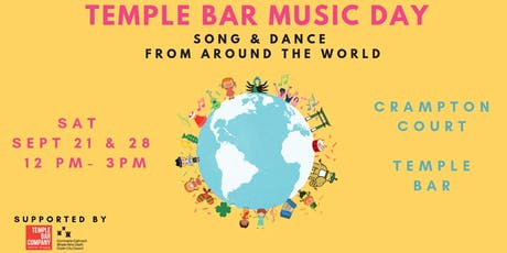 Temple Bar Music Day tickets