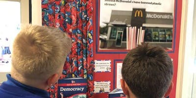 Using the news to inspire young minds