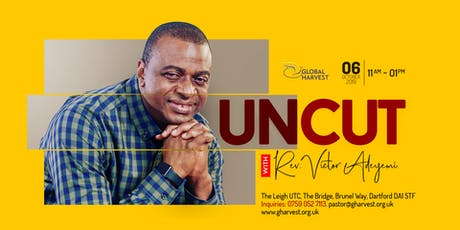 Uncut with Rev. Victor Adeyemi tickets