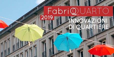 FabriQ Quarto 2019 - Presentazione Bando del Comune di Milano biglietti