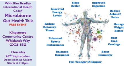 Explore improving your health through your Gut Microbiome tickets
