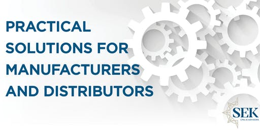 Practical Solutions for Manufacturers and Distributors