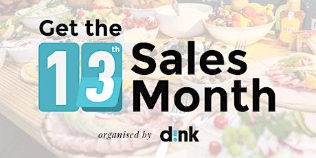 13th Sales Month Breakfast BXL - 3 tickets