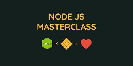 MasterClass NodeJS x Wild Code School billets