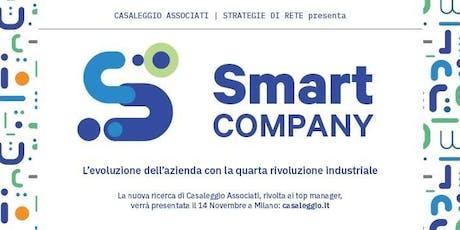 SMART COMPANY: L'evoluzione dell'azienda con la 4° Rivoluzione Industriale biglietti