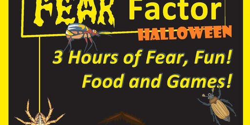 Kids Fun Fear Factor Halloween