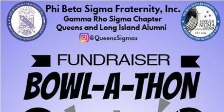 Phi Beta Sigma Fraternity Gamma Rho Sigma Chapter Bowl-A-Thon tickets