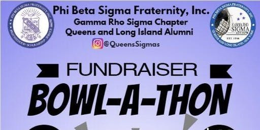 Phi Beta Sigma Fraternity Gamma Rho Sigma Chapter Bowl-A-Thon