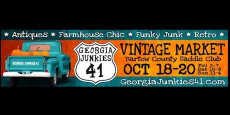 GA Junkies 41 FaLL Vintage Market tickets