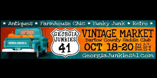 GA Junkies 41 FaLL Vintage Market