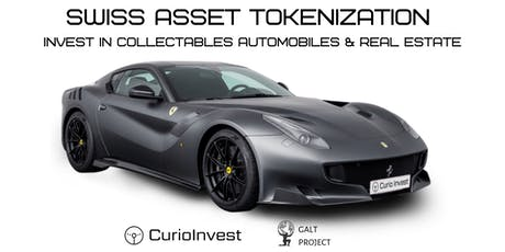 Swiss Asset Tokenization. Invest in Collectables Automobiles & Real Estate tickets