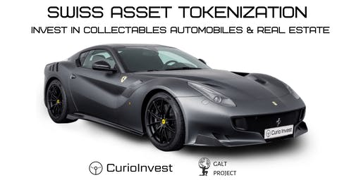 Swiss Asset Tokenization. Invest in Collectables Automobiles & Real Estate