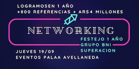 Networking de negocios + $61.000 en regalos entradas
