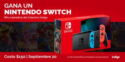 Gana un NINTENDO SWITCH