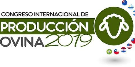 Congreso Internacional de Produccion Ovina 2019 entradas