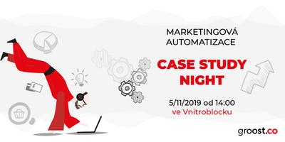 Marketingová automatizace - Case Studies Night