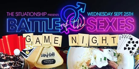 The Situationship presents Battle of the Sexes Game Night tickets