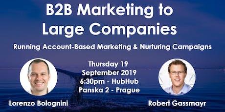 B2B Marketing to Large Companies biglietti