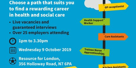 Health and Social Care Jobs Fair tickets
