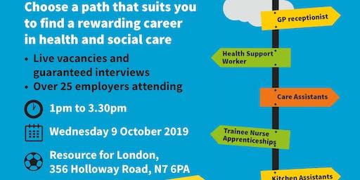Health and Social Care Jobs Fair