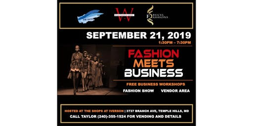 Fashion Meets Business Fashion Show & Empowerment Workshop