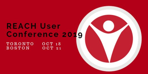 REACH User Conference - Toronto  October 18, 2019