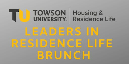 Leaders in Residence Life Brunch