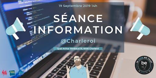 Séance Information - BeCode Charleroi