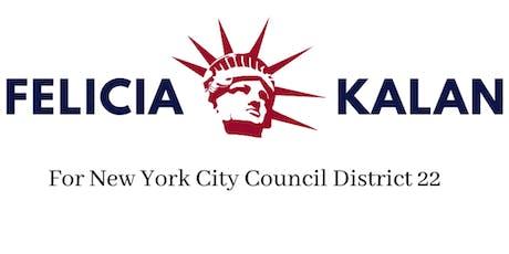 Felicia Kalan for New York City Council (Private Announcement Social) tickets