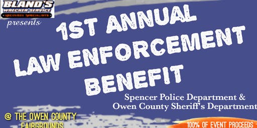 1st Annual Law Enforcement Benefit